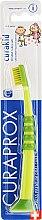 Parfüm, Parfüméria, kozmetikum Gyerek fogkefe Curakid, sárga-zöld - Curaprox
