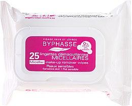 Parfüm, Parfüméria, kozmetikum Sminkeltávolító törlőkendő - Byphasse Make-up Remover Micellar Solution Sensitive Skin Wipes