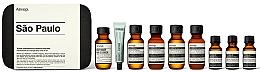 Parfüm, Parfüméria, kozmetikum Szett - Aesop Sao Paulo Travel Essentials Kit (shm/50ml + cond/50ml + sh/gel/50ml + balm/50ml + m/wash/50ml +t/paste/10ml + toner/15ml + serum/15ml)