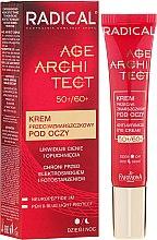 Parfüm, Parfüméria, kozmetikum Szem alatti karikák elleni és ránctalanító krém - Farmona Radical Age Architect Anti Wrinkle Eye Cream 60+