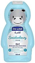 """Parfüm, Parfüméria, kozmetikum Test- arc- és hajmosó szer """"Krém"""" - On Line Le Petit Cream 3 In 1 Hair Body Face Wash"""