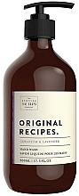 Parfüm, Parfüméria, kozmetikum Folyékony kézszappan - Scottish Fine Soaps Original Recipes Geranium & Lavender Hand Wash