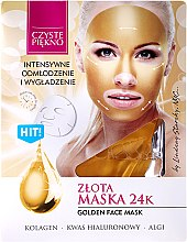"Parfüm, Parfüméria, kozmetikum Arcmaszk ""Arany"" - Czyste Piekno Gold Face Mask"