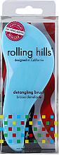 Parfüm, Parfüméria, kozmetikum Hajfésű, kék - Rolling Hills Detangling Brush Travel Size Sky Blue