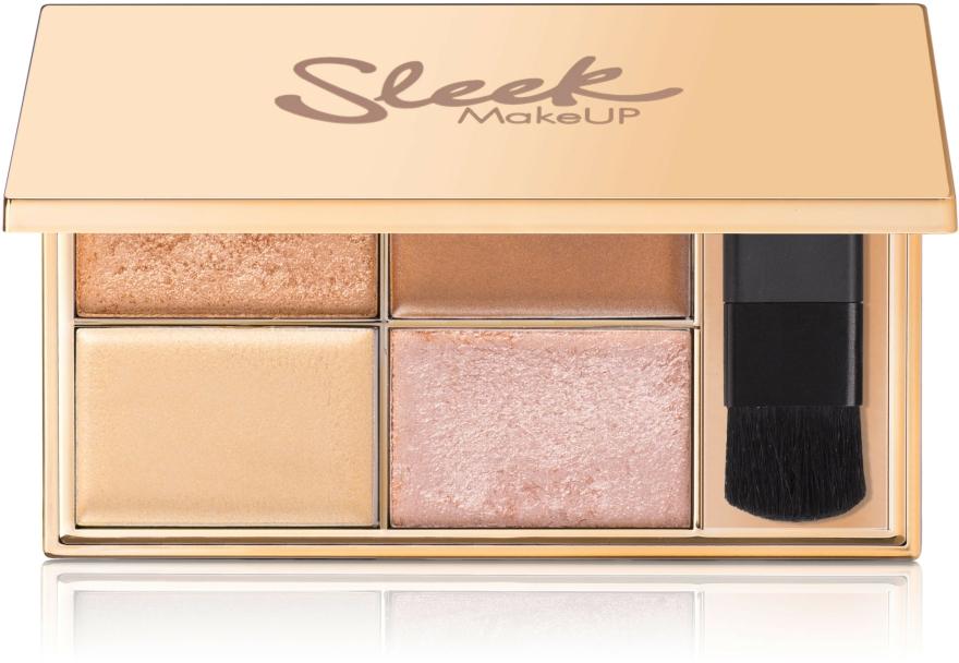 Highlighter készlet - Sleek MakeUP Highlighting Palette