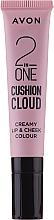 Parfüm, Parfüméria, kozmetikum Tint-cushion - Avon 2 In One Cushion Cloud Creamy Lip & Cheek Coloure