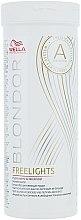 Parfüm, Parfüméria, kozmetikum Fehér melírozó szőkítőpor - Wella Professionals Blondor Freelights