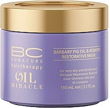 Parfüm, Parfüméria, kozmetikum Regeneráló hajmaszk - Schwarzkopf Professional Bonacure Oil & Micro Keratin Mask