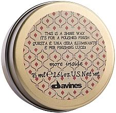 Parfüm, Parfüméria, kozmetikum Fényesítő wax - Davines More Inside This Is A Shine Wax