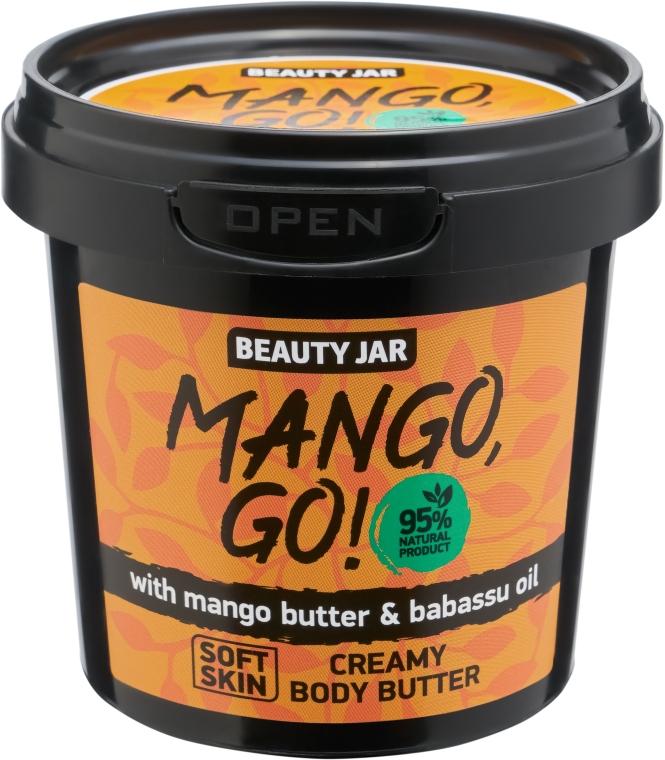 "Testápoló krém ""Mango, Go!"" - Beauty Jar Shimmering Creamy Body Butter"