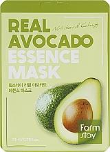 Parfüm, Parfüméria, kozmetikum Szövetmaszk arcra avokádó kivonattal - FarmStay Real Avocado Essence Mask