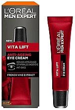 Parfüm, Parfüméria, kozmetikum Anti-age szemkörnyékápoló krém - L'Oreal Paris Men Expert Vita Lift Anti-Ageing Eye Cream
