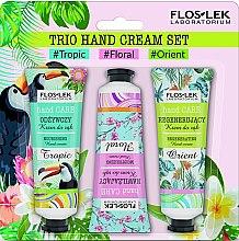 Parfüm, Parfüméria, kozmetikum Szett - Floslek Trio Hand Cream Set (h/cr/50ml*3)