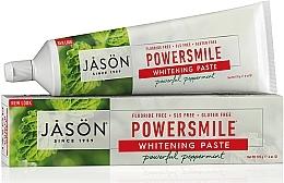 Parfüm, Parfüméria, kozmetikum Fehérítő fogkrém - Jason Natural Cosmetics PowerSmile All Natural Whitening Toothpaste