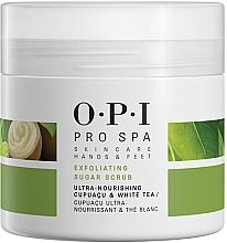 Parfüm, Parfüméria, kozmetikum Lábradír cukor alapú kristályokkal - O.P.I ProSpa Skin Care Hands&Feet Exfoliating Sugar Scrub
