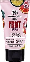 """Parfüm, Parfüméria, kozmetikum Lotion kézre """"Gyümölcsbomba"""" - Alessandro International Spa Fruit Bomb Hand Lotion"""