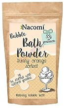 "Parfüm, Parfüméria, kozmetikum Fürdőpúder ""Nararncs sörbet"" - Nacomi Sunny Orange Sorbet Bath Powder"