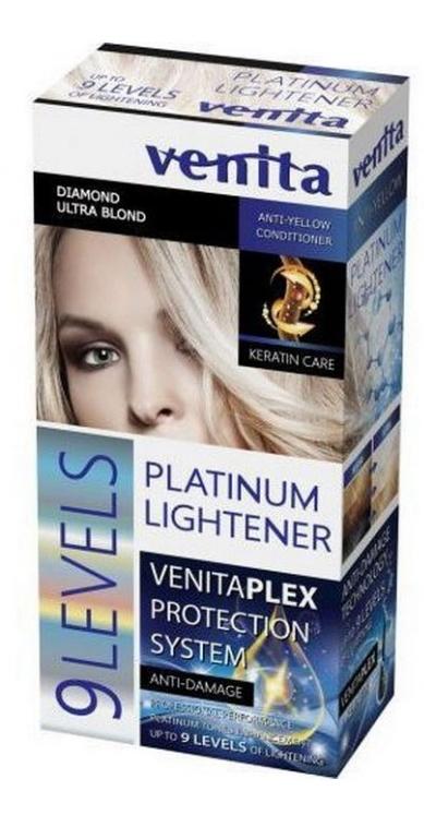 9 tónusú szőkítő - Venita Plex Platinum Lightener