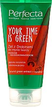 Parfüm, Parfüméria, kozmetikum Arclemosó gél - Perfecta Your Time is Green