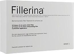 Parfüm, Parfüméria, kozmetikum Dermokozmetikai rendszer, 1. szint - Fillerina Dermo-Cosmetic Filler Treatment Grade 1 (gel/30ml + cr/30ml + applicator/2szt)
