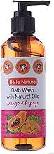 Parfüm, Parfüméria, kozmetikum Tusfürdő mangó és papaja illattal - Belle Nature Bath Wash Mango&Papaya