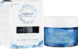 Parfüm, Parfüméria, kozmetikum Hidratáló és regeneráló oxigén maszk arcra - Lumene Nordic Hydra 72H Gel Mask