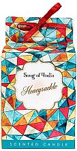"""Parfüm, Parfüméria, kozmetikum Illatosított gyertya pohárban """"Lonc"""" - Song of India Honeysuckle Candle"""