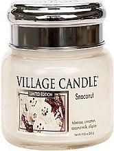 Parfüm, Parfüméria, kozmetikum Aroma gyertya - Village Candle Snoconut