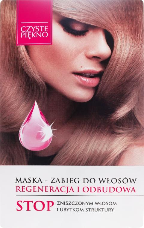 """Gyógyító hajmaszk """"Helyreállítás és regenerálás"""" - Czyste Piękno"""