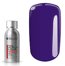 Parfüm, Parfüméria, kozmetikum Körömdiszítő akril - Silcare Nail Acrylic Liquid Medium Action Color