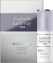 Parfüm, Parfüméria, kozmetikum Regeneráló szemkörnyékápoló szérum - Isabelle Lancray Beaulift Radiant Eye Creamy Serum