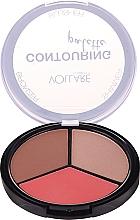 Parfüm, Parfüméria, kozmetikum Kontúr paletta - Vollare Cosmetics Contouring Palette Bronzer, Shimmer, Blusher