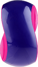 Parfüm, Parfüméria, kozmetikum Hajkefe, lila és rózsaszín - Twish Spiky 1 Hair Brush Purple & Deep Pink