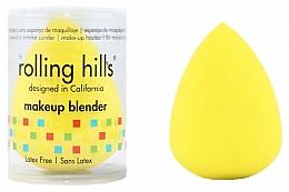 Parfüm, Parfüméria, kozmetikum Sminkszivacs, sárga - Rolling Hills Makeup Blender Dark Yellow