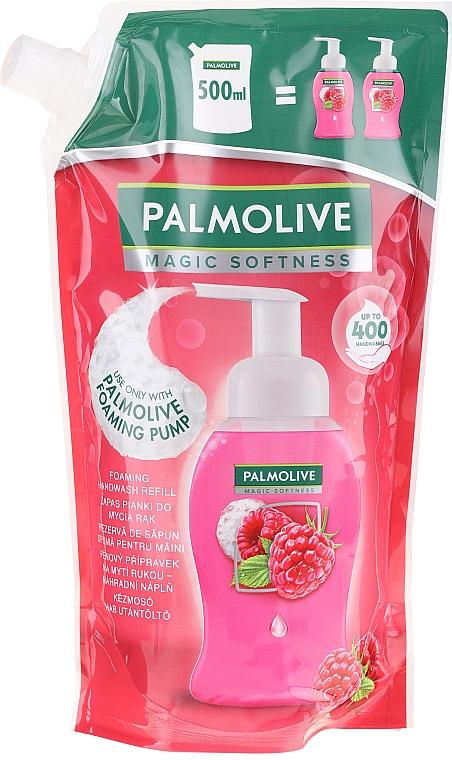 Folyékony szappan - Palmolive Magic Softness Raspberry Foaming Handwash (utántöltő)