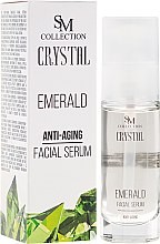 """Parfüm, Parfüméria, kozmetikum Arcszérum """"Smaragd"""" - SM Collection Crystal"""