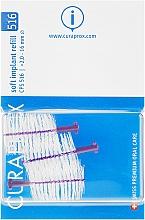 Parfüm, Parfüméria, kozmetikum Implant fogköztisztító kefe szett, CPS 516, 3 db - Curaprox Soft Implant