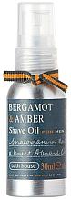 Parfüm, Parfüméria, kozmetikum Bath House Bergamot & Amber - Borotvaolaj
