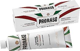 Parfüm, Parfüméria, kozmetikum Borotválkozó krém érzékeny bőrre - Proraso White Shaving Cream