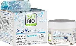 Parfüm, Parfüméria, kozmetikum Nappali krém-gél - So'Bio Etic Aqua Energie Dynamic Oxygen-Rich Gel Day Cream