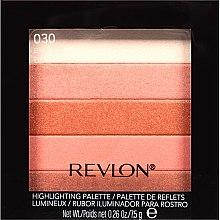 Parfüm, Parfüméria, kozmetikum Arcpirosító - Revlon Highlighting Palette
