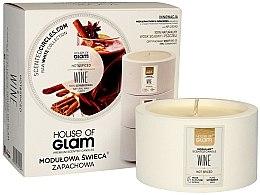Parfüm, Parfüméria, kozmetikum Illatosított gyertya - House of Glam Hot Spiced Wine Candle