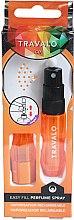 Parfüm, Parfüméria, kozmetikum Szórófejes parfüm utántöltő palack - Travalo Ice Orange Refillable Spray