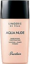 Parfüm, Parfüméria, kozmetikum Hidratáló alapozó fluid - Guerlain Lingerie de Peau Aqua Nude