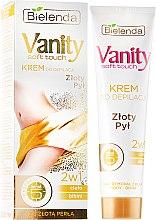 """Parfüm, Parfüméria, kozmetikum Szőrtelenítő krém 2 az 1-ben """"Aranypor"""" - Bielenda Vanity Soft Touch Depilatory Cream"""