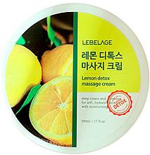 Parfüm, Parfüméria, kozmetikum Masszázs krém - Lebelage Lemon Detox Massage Cream