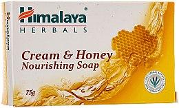 Parfüm, Parfüméria, kozmetikum Tápláló szappan normál és száraz bőrre - Himalaya Herbals Cream Honey Soap