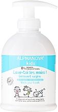 Parfüm, Parfüméria, kozmetikum Baba folyékony kézmosó szappan - Alphanova Kids Wash Your Hands