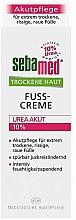 Parfüm, Parfüméria, kozmetikum Lábkrém - Sebamed Trockene Haut Urea 10% Foot Cream