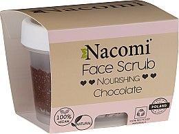 Parfüm, Parfüméria, kozmetikum Hidratáló bőrradír arcra és ajakra - Nacomi Moisturizing Face&Lip Scrub Chocolate